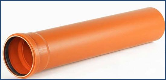 Труба канализационная для наружной прокладки диаметр 110